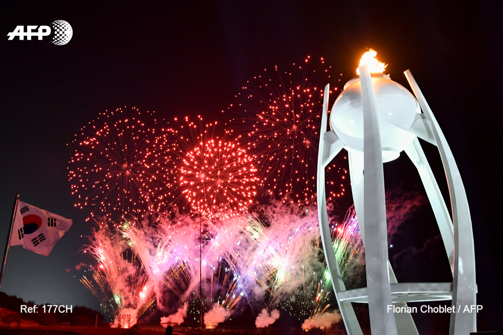 Winter games, Pyeongchang, AFP